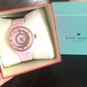 NWT Kate Spade Pink Ceramic Watch